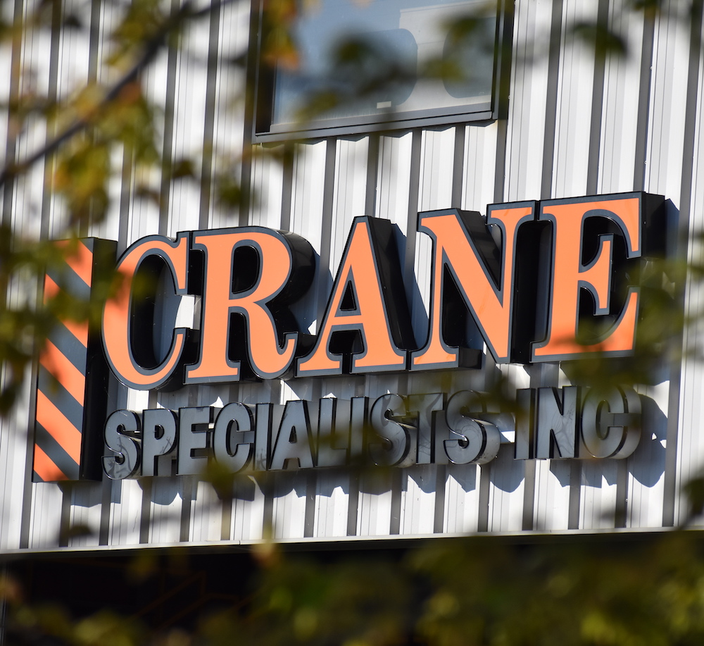 Crane Specialists Front